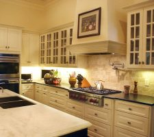 picture of fine kitchen cabinets