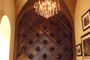 custom made wine rack