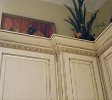 custom built kitchen molding