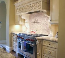 custom built kitchen