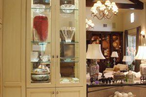 custom made display cabinet