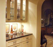custom built kitchen pantry
