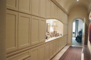 custom made hallwat storage area
