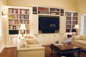 custom made living area
