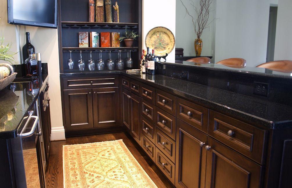 Wet Bar Oncken Sons Cabinet Shop