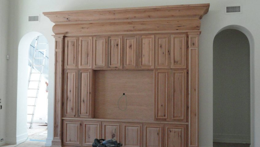 custom made cabinet entertainment