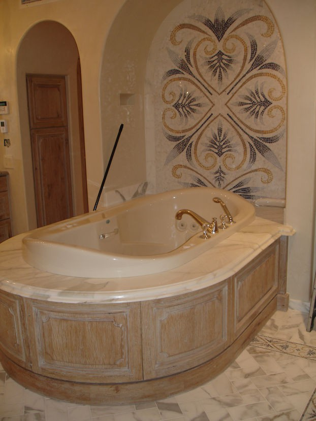 Custom Bath Woodwork - Oncken & Sons Cabinet Shop