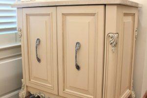 custom cabinet bath