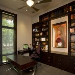 custom built office bookcase