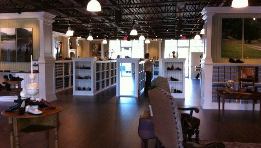 custom store shelves